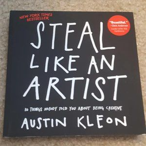 Steal Like An Artist Austin Kleon Book